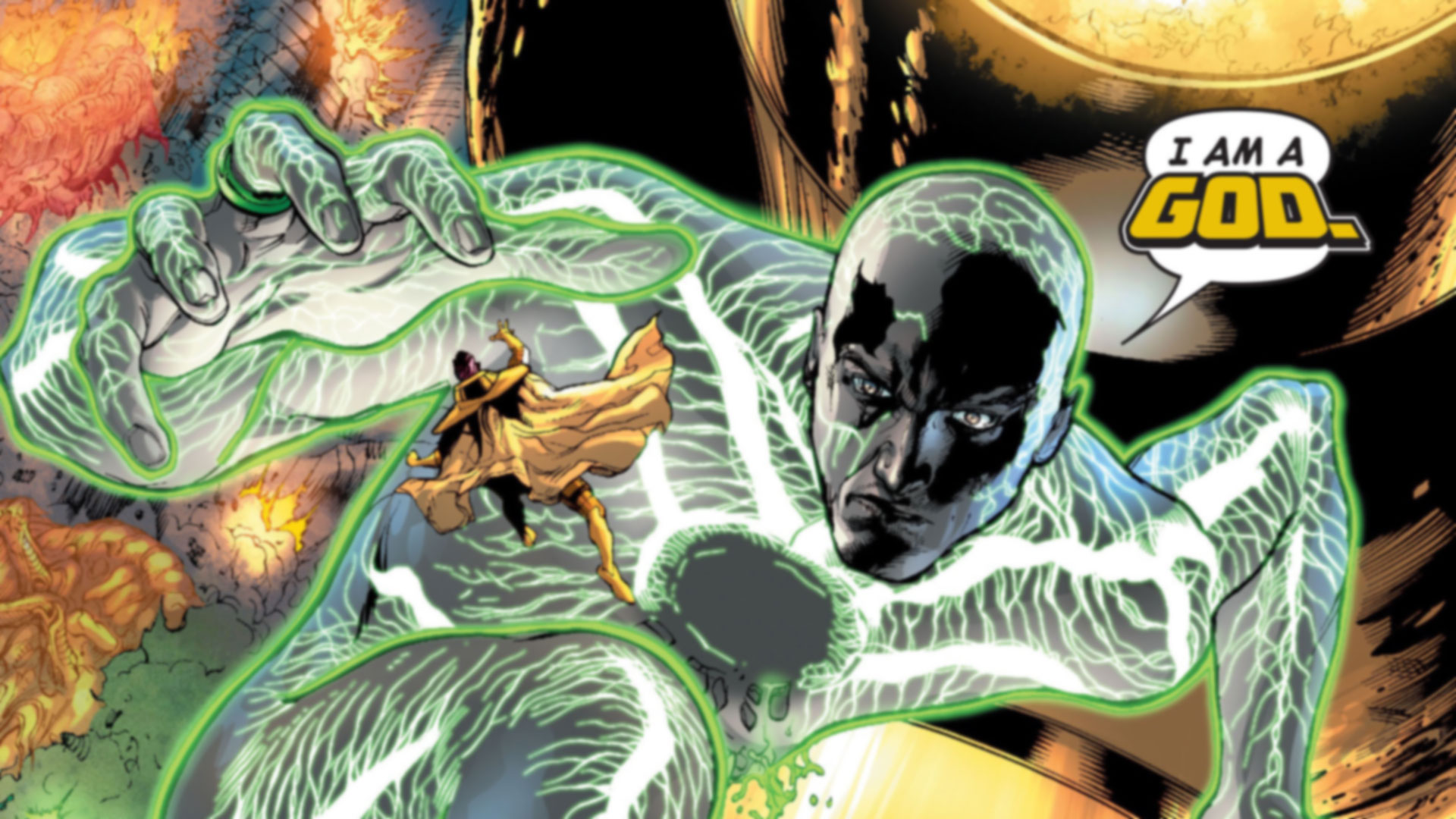 Top 20 Most Powerful Overpowered DC Characters 8 Volthoom