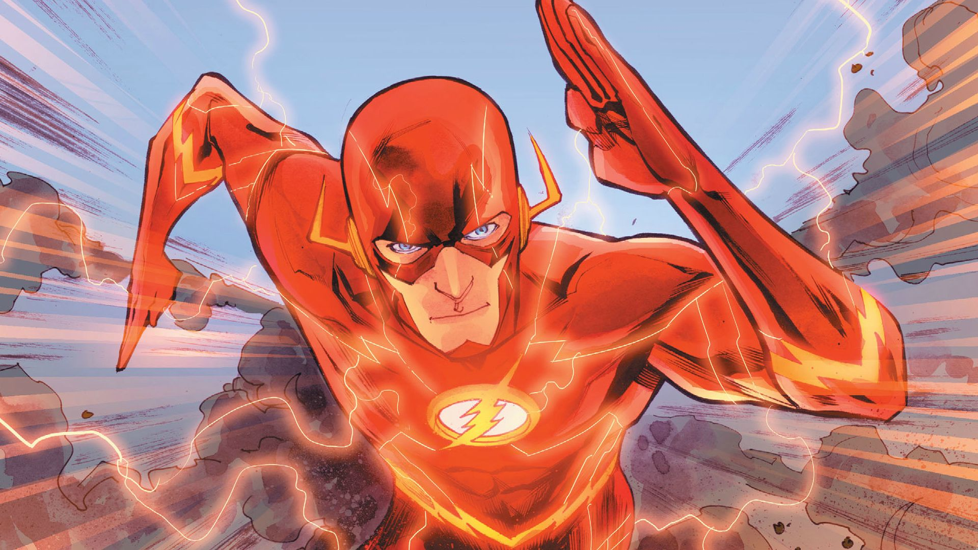 Top 20 Most Powerful Overpowered DC Characters 9 Flash