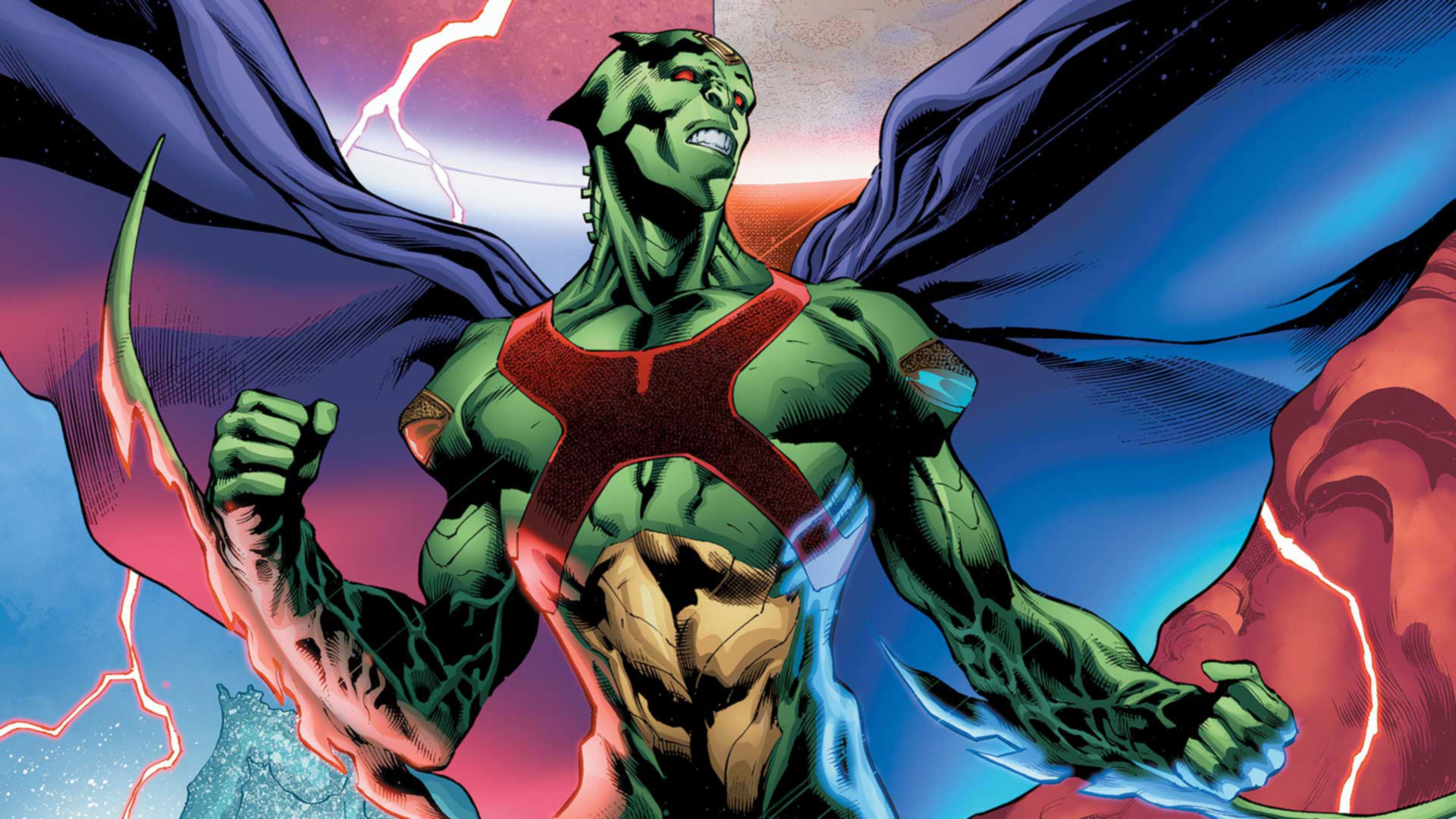 Top 20 Most Powerful Overpowered DC Characters 18 Martian Manhunter